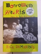 Borrowed Hearts New and Selected Stories Hardcover Demarinis, Rick Autographed