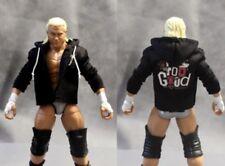 "NOX-T-G: Custom Logo Hoodie for 7"" Mattel Dolph Ziggler Wrestling WWE Figure"