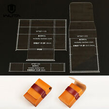 WUTA HDD Case Diy Leather Template Clear Acrylic Pattern for Apple Adapter 921