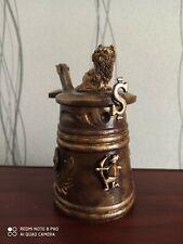 Decorative mug for the interior, handmade, decoupage.