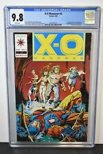 X-O Manowar #4 (1992) ~ CGC Graded 9.8 ~ Harbinger ~ Barry Windsor-Smith Cover