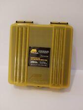 2 Plano 122400 Ammo 9mm/380 Caliber Handgun Yellow Ammunition Box Hard Case