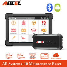 Ancel X7 Code Reader All System DPF TPMS OBD2 Scanner Car Diagnostic Tool Tablet