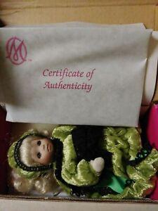 MARIE OSMOND COUNTESS CATERPILLAR BITTY BEAUTY BUG DOLL NEW IN BOX W/ COA