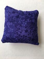 Handmade square mini pillow cat toy with catnip gift pet Cotton Print