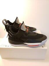 Air Jordan 33 XXXIII SE Size 9 Black Cement Low Top Men's CD9560-006 New
