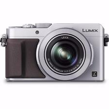 Panasonic LUMIX DMC-LX100 12.8 MP Digital Camera - Silver & Brown NEW 4K Camera