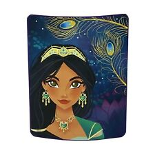 "Disney's Aladdin Bliss Jasmine Throw Blanket Warm Soft Super Throw 46"" x 60''"