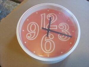 Howard Miller Wall Clock #933 Swing Timer  Arthur Umanoff George Nelson