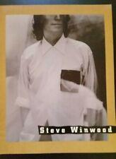 """Steve Winwood """"Refugee of the Heart"""" Tour - Concert Program 1991"""