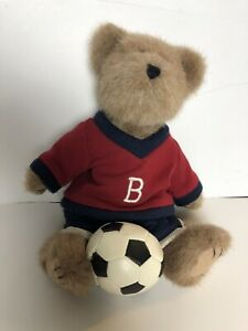 "Boyds Bear Stryker Scoresalot soccer plush 10"" Stuffed Animal"