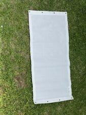 Hurricane Window Impact Resistance Fabric Panels