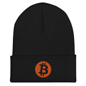 Bitcoin Cryptocurrency Cuffed Beanie 2