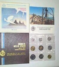 REPUBBLICA DI SAN MARINO -  SERIE MONETE DIVISIONALE 1983