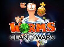 Worms: clan Wars (PC, 2013, sólo la Steam key descarga código) no DVD, no CD