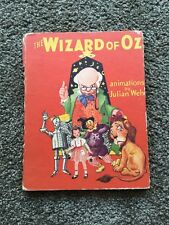 The Wizard of Oz-Maude Baum animated by Julian Wehr 1944 Saalfield Publishing Co