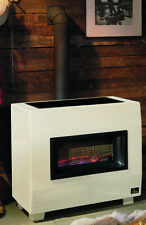 Empire RH-65B 65,000 BTU Visual Flame Vented Room Console Heater with Blower