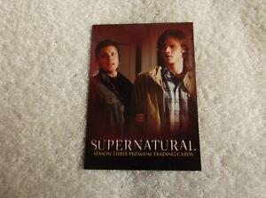 "Inkworks - Supernatural ""SUPERNATURAL"" #P-PS Season 3 Promo Trading Card - 2008"