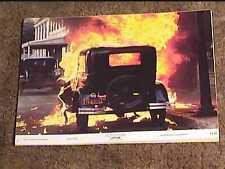 CAPONE 1975 LOBBY CARD #6 VINTAGE CAR