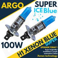 H1 100W Xenon HID Ice Cool Blue Effect 488 Headlight Fog Lamps Light Bulbs 12v