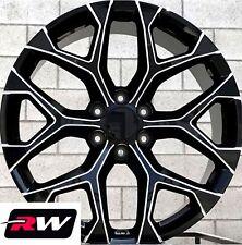 "20"" inch 20 x9"" Wheels for GMC Yukon Black Milled Rims CK156"