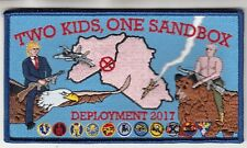 HSC-9 TRIDENTS TWO KIDS, ONE SANDBOX CRUISE 2017 PATCH