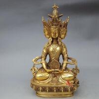 Buddhist brass VAIROCANA, Herr der Mitte buddha statue