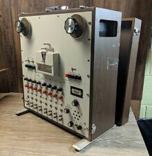 A. R. Vetter Model D Instrumentation Reel to Reel Tape Recorder *UNTESTED*