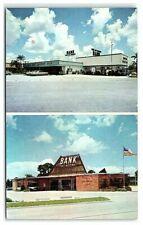 Postcard Fl Inter City National Bank Florida Vintage Chrome Sarasota Manatee Vtg