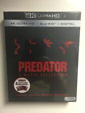 Predator: 4-movie Collection (4K UHD Blu-ray/Blu-ray, Digital HD) NEW