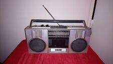 boombox Radio Cassette HITACHI TRK-6801E vintage