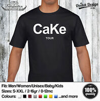 CaKe TOUR T-SHIRT CARA KIM DELEVINGNE KENDALL JENNER KANYE MEN WOMEN UNISEX DOPE