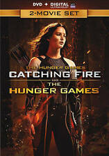 The Hunger Games: Catching Fire/The Hunger Games Double Feature (DVD,2014,2-dis)