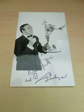 More details for norman barrett & budgies  original vintage signed photograph circus blackpool