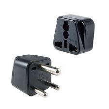 110V-220V Usa to India Travel Adapter Power Socket Plug Converter Convertor 1pc