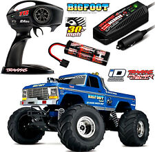 TRAXXAS Bigfoot no. 1 RTR 12v terne 1-10 MONSTER TRUCK 12t xl-5 trx36034-1