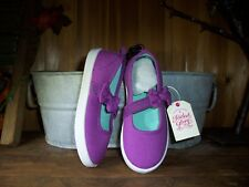 FADED GLORY GIRLS TODDLER CASUAL DRESS SHOES SIZE 7 COLOR PURPLE EASTER SHOES