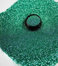 3ml Glitter 0,2mm, helles Petrol, Glitterstaub, Puder Acryl Dose, Nr. 801-005-a