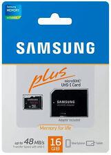 Samsung 16GB MicroSD HC Plus Class 10 UHS-1 Memory Card w/ SD Adapter MB-MPAGCA
