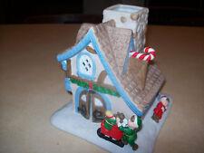 Partylite Santa's Workshop Tealight House