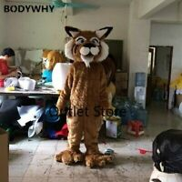 Long Fur Mascot Costume Cosplay Dress Outfit Advertising Outfit Fursuit