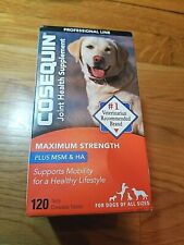 Cosequin DS Maximum Strength Joint Health Supplement 120 Tasty Tablets  06/2023