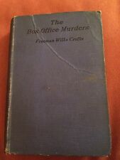 The Box Office Murders by Freeman Wills Crofts 1931 Hardcover Book 3rd Printing