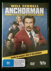 ANCHORMAN The Legend Of Ron Burgundy - Christina Applegate, Will Ferrell DVD