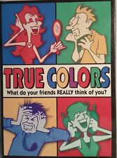 True Colors Board Game Pressman 2005, Adult Party Game COMPLETE