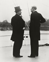 President Theodore Roosevelt with Chief Forester Gifford Pinchot Photo Print