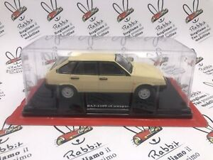 "Die Cast "" lada 2109 Samara 1987 "" East Legendary Cars Scale 1/24 HACHETTE"