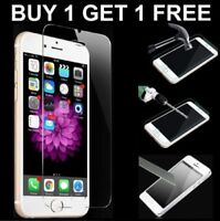 100% GENUINE TEMPERED GLASS FILM SCREEN PROTECTOR FOR APPLE IPHONE 6 6S- HOT