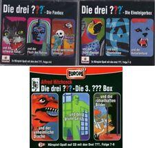9 CDs * DIE DREI ??? (FRAGEZEICHEN) - FOLGEN 1-9 (CD BOX 1+2+3) SET # NEU OVP =