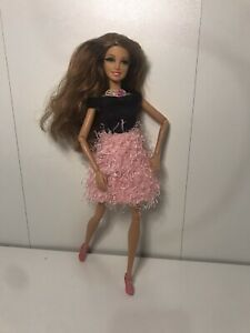 Life in The DreamHouse Teresa Barbie Doll Rooted Lashes,Pink,LITD Articulated
